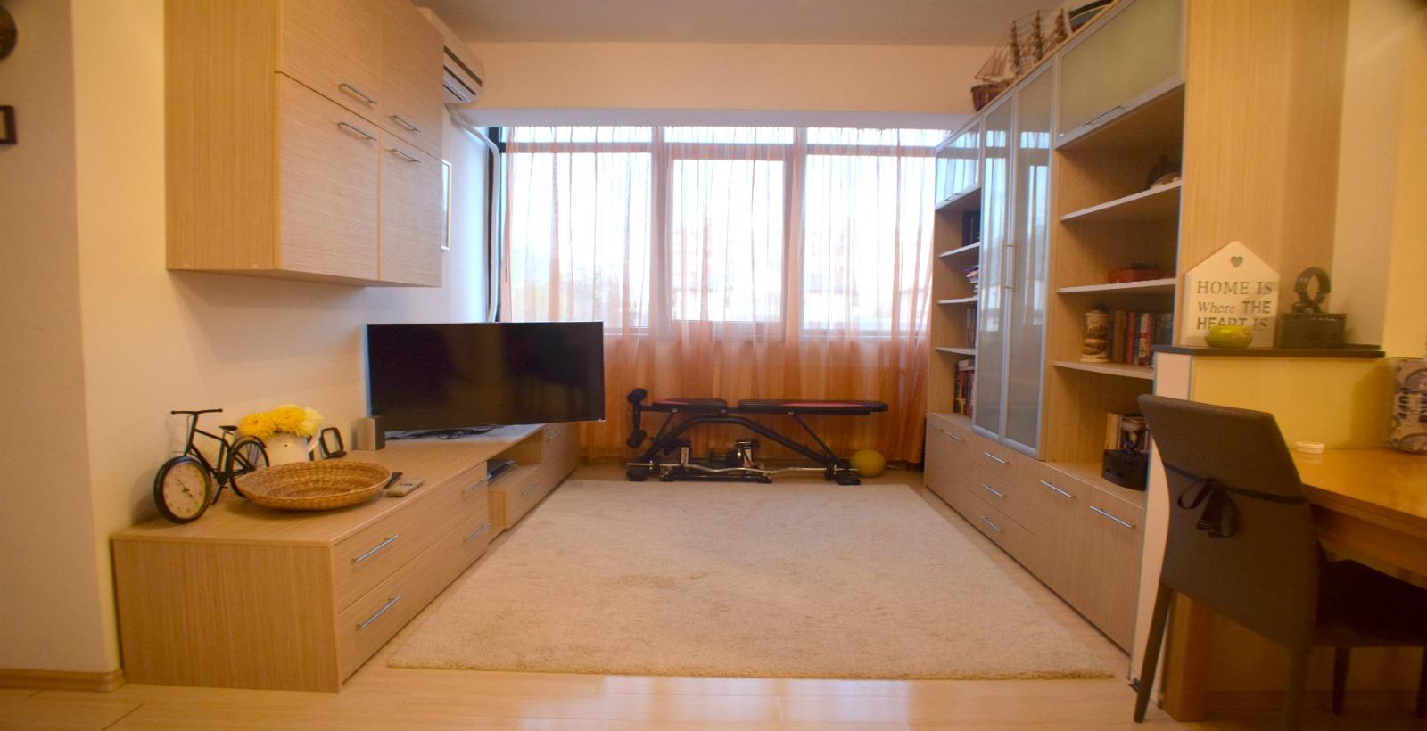 3 camere, mobilat modern, loc parcare, zona Parc Bazilescu – Bucurestii Noi