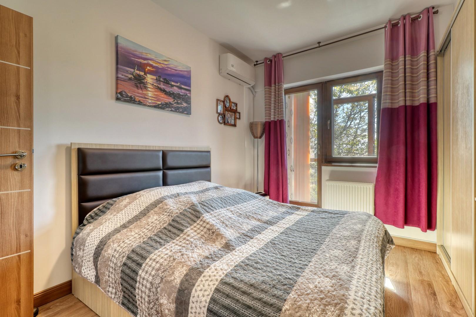 3 camere, mobilat si utilat, zona Bucurestii Noi